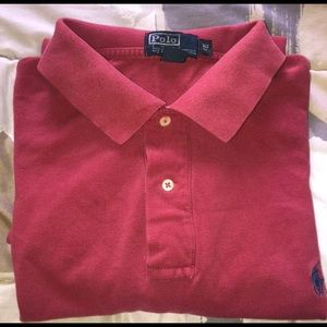 Polo Ralph Lauren Polo Shirt Red size XLT